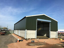 Steel Frame Building 60ft x 40ft x 15ft Including vat