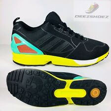 newest a01c0 afdac Adidas ZX Flux Commuter Pack Ltd Edition  325 333 Black Yellow Mens Sz