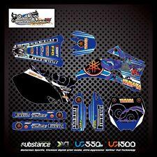 Yamaha YZF 250 450 08-09 Dragon Kit Purple Decal Sticker MX (400)