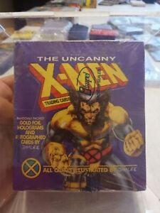 1992 Impel Uncanny X-Men  Factory Sealed Box  Wolverine