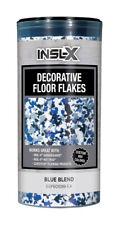 Insl-X Flat Blue Blend Decorative Color Flakes/Chips 10 oz.