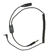 Pilot Communications - Digital Audio Recorder Adapter For GA (Dual Plug) Headset