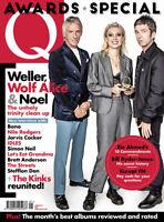q magazine Jan 2018 Awards Special Idles Weller Noel Gallagher U2 Wolf Alice