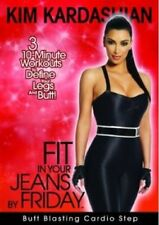 Fit In Your Jeans By Friday - Butt Blasting Cardio Step (DVD, 2009)