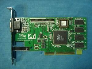 ATI 1025281300 8MB AGP Video Graphics Card 30 Day Warranty