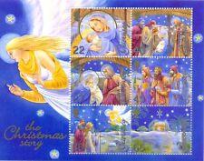 Guernsey 2002 Natale foglio min-GLI ANGELI-Gomma integra, non linguellato