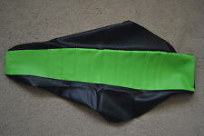 FLU TEAM  KAWASAKI PLEATED GRIPPER SEAT COVER KX125 KX250 2003 2004 2005 2006 07
