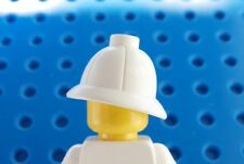 LEGO Minifig White PITH HELMET - Jungle Explorer Soldier Minifigure Safari Hat