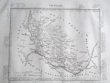 84 Vaucluse gravure carte géographique Tardieu 1840 (1c)