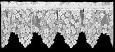 Dogwood White Lace Window Valance by Heritage Lace