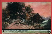 MY COUNTRY TIS OF THEE AMERICA SONG ULLMAN POSTCARD