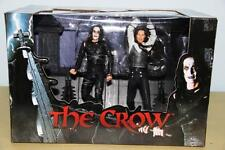 THE CROW NECA  ROOFTOP BATTLE SCENE REEL 2 PACK REELTOYS HASBRO KENNER