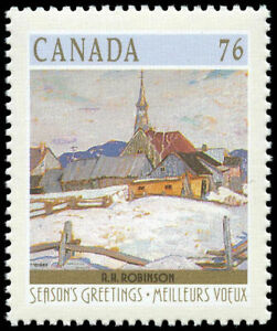 Canada Stamp #1258 - Ste. Agnes (near La Malbaie, QC) (1989) 76¢