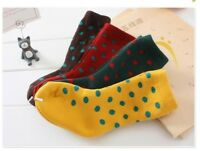 Elegant Dots kids Thick Socks Winter Warm Cotton Children Girl Boys