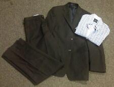 JOSEPH ABBOUD And TAILORBYRD Boy's Suit Pinstripe w Shirt Sz 14 14 R GG4429