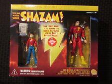 2000 DC Direct Deluxe SHAZAM Thunder Sound Action Figure MIB Billy Batson