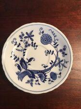 Old Vienna England Fine China Vintage Blue Onion Saucer.