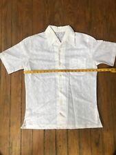 Chapman's Vintage Beach/hawaiian Dolphin Shirt Late 50's Mens Medium sweet shirt