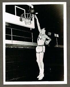 c.1956 NBA Basketball 8x10 Original Photo, Ernie Beck, Philadelphia Warriors #30