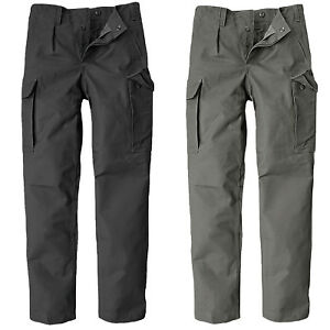 New German Army Moleskin Bundeswehr Combat Cargo Cotton Pants Work Trousers Hose