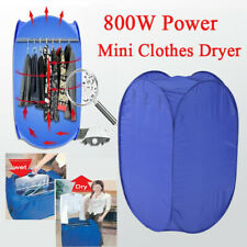 Portable Electric Clothes Drying Machine Fast Dryer Folder Dryer Bag Household