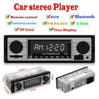 SWM 5513 LCD Auto Car Stereo MP3 Player FM Radio BT4.0 USB AUX RCA Autoradios