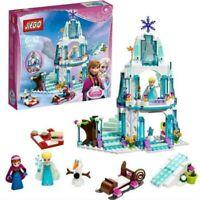 Disney Frozen Ice Castle Princess Elsa Anna Olaf Figures Building Christmas Gift