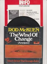 ROD McKUEN The Wind Of Change 45/GER/PIC
