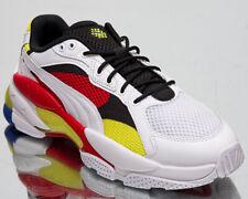 Puma LQD Cell Epsilon Men's White Red Yellow Black Lifestyle Sneakers Shoes