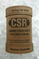 CSR Canning Stock Route DELUXE Leather Stubby Holder