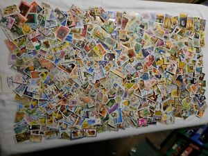 Lot de timbres du monde