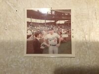 1970's GLOSSY COLOR DODGERS BASEBALL PHOTO