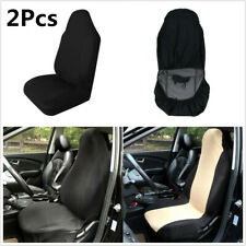 2Pcs Car Seat Cover Front Seat Protector Cushion Waterproof Anti-Dust Cushion