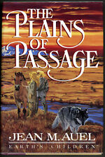 Jean M Auel / THE PLAINS OF PASSAGE First Edition 1990