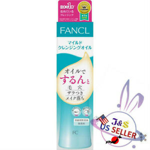 Fancl Mild Cleansing Oil Makeup Remover 120ml - US Seller