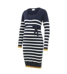 Umstandsmode Kleid Blau Weiß Gestreift Größe L! Neuwertig!