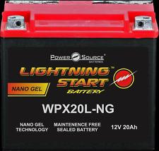 LIGHTNING  GEL BATTERY 500 CCA HARLEY SOFTAIL FXST FXSTC FXSTD DEUCE SPRINGER