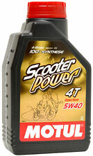 MOTUL Aceite lubricante 4T SCOOTER POWER 4T 5W40 1L