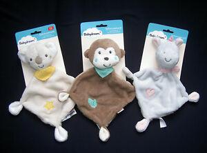 NEU ★ Babydream Koala>Affe>Nilpferd Hippo Schnuffeltuch Schmusetuch Kuscheltuch