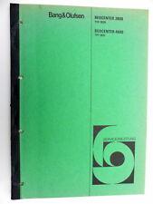 Bang & Olutsen B&O Beomaster 2800 und 4600 Serviceanleitung /manual D (5