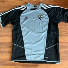 Adidas Climacool L Columbus Crew Gray and Black Jersey Shirt