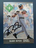 SIGNED 1991 Fleer Ultra BARRY BONDS Pittsburgh Pirates Autographed Auto Card