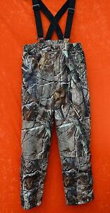 Cabelas Silent Suede Dry Plus Pants Camo INUSLATED YOUTH Kids Childrens Realtree
