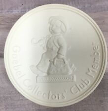 Goebel Collectors Club Member Medallion 1987 Hummel
