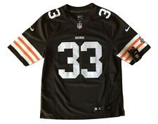 Trent Richardson Cleveland Browns On Field Nike Mens Sewn Jersey Medium #33 NWT