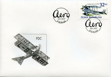 Czech Republic 2017 FDC Airplanes Aero A-14 1v Set Cover Planes Aviation Stamps