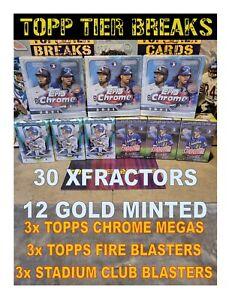 PHILADELPHIA PHILLIES - 2021 TOPPS CHROME MEGA fire 9X BOX MIXER LIVE BREAK #72