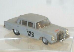 Mercedes Benz 220 Se Monte Carlo Ganador 1960 Modelo Hecho a Mano France 1:43