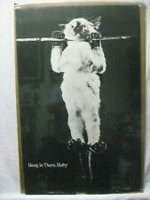 HANG IN THERE, BABY  VINTAGE POSTER GARAGE 1970'S  CNG1052