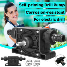 Self-Priming Drill Pump HEAVY DUTY Power Pump For Electric Drill Oil Fluids